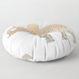GOLD ELEPHANT Floor Pillow