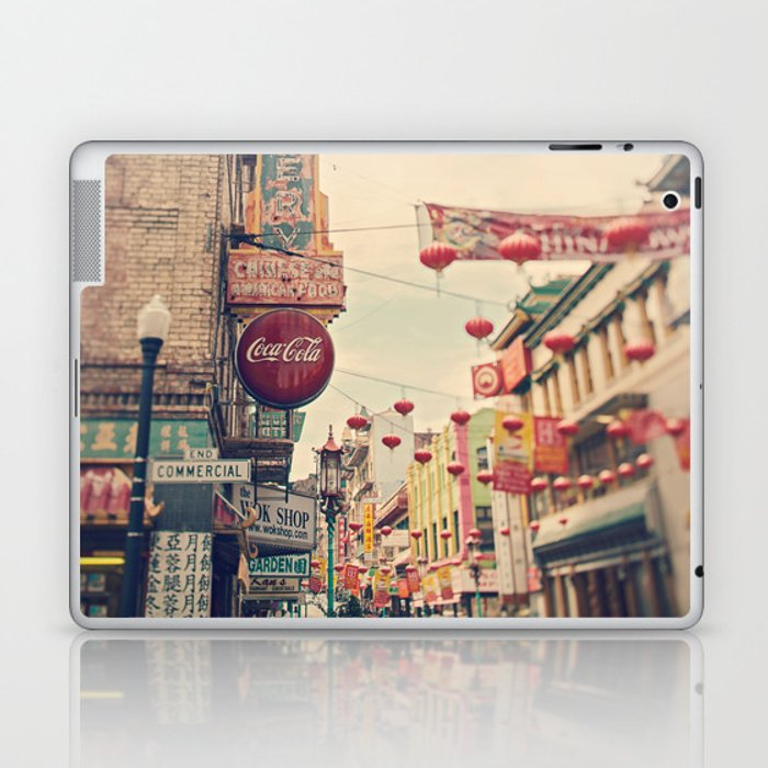 Chinatown (San Francisco) Laptop & iPad Skin