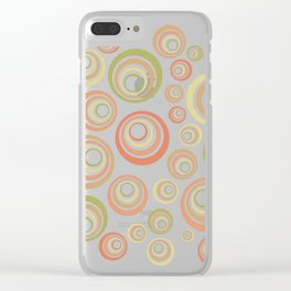 Groovy 60's Clear iPhone Case