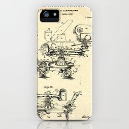 CAMERA BLUPRINT iPhone Case