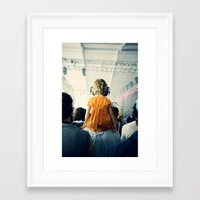 bon iver Framed Art Prints featuring LuLu at Bon Iver by Pope Saint Victor