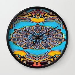 The Departed of Achilles 7 Wall Clock