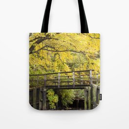 Jersey in Yellow Tote Bag