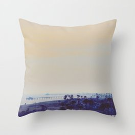 Newport Dusk Throw Pillow