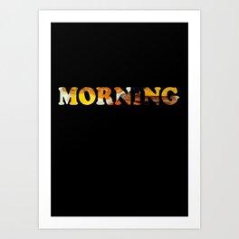 Breakfast Of Champions Art Print