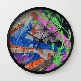 Color Entropy III Wall Clock