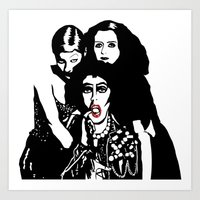 Rocky Horror Art Print