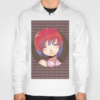 cherry Hoodies featuring Cherry by EY Cartoons