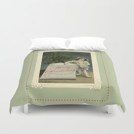 To My Angel Duvet Cover
