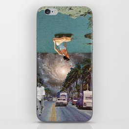 The Mind on Tormented Tides iPhone Skin