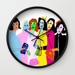 Fashion Week Wall Clock