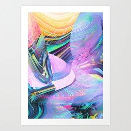 HOLODELIC Art Print
