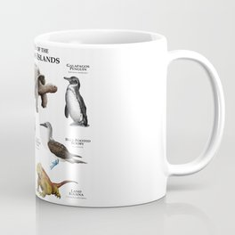 Animals of the Galapagos Islands Coffee Mug