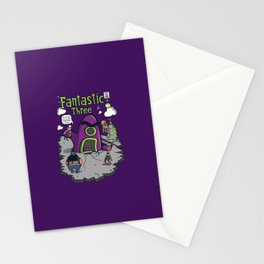 Fantastic Three Stationery Cards
