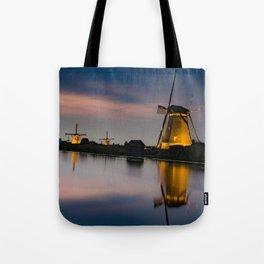 Dutch Wind Mills Tote Bag