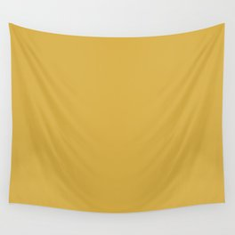 Mustard Yellow Color Wall Tapestry