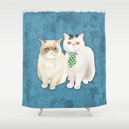Dagoo Puddle Shower Curtain