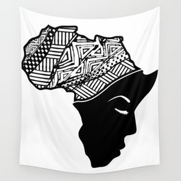 Prayer for Africa Wall Tapestry