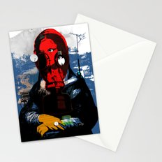 Mona Gasa StreetPunkArt 3 Stationery Cards