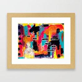 The Hero of the Story Framed Art Print