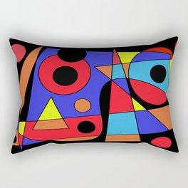 Abstract #104 Rectangular Pillow