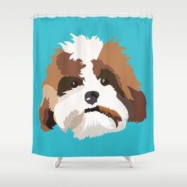 Sir Finley Shower Curtain
