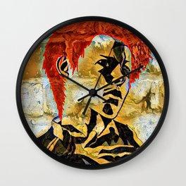 Rotten Graffiti Wall Clock
