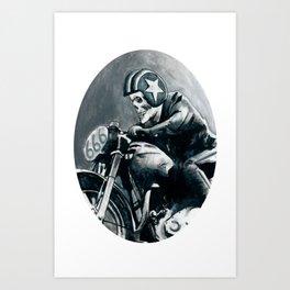 Satanride Art Print