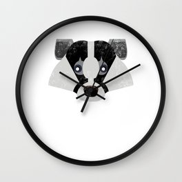 Huffle Badger Everyday I'm Huffling Cute  Wall Clock