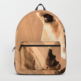 Beautiful and fast - Impala portrait Backpack