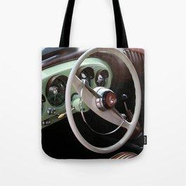 Vintage Kaiser Darrin Automobile Interior Tote Bag