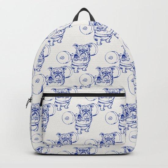 English Bulldog Squat Backpack