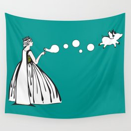 The Queen City  Wall Tapestry