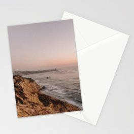 La Jolla Sunset Stationery Cards