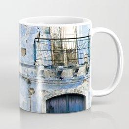BLUE FACADE of SICILY Coffee Mug