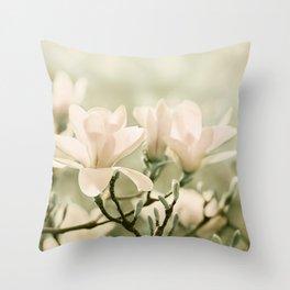 Magnolia 011 Throw Pillow