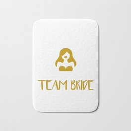 Womens Team Bride design For Bachelorette Party - 2019 Weddings Bath Mat
