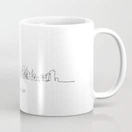 New York City Skyline Drawing Coffee Mug