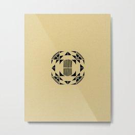 Converge Metal Print