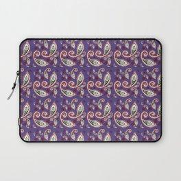 Oriental Ornament Purple . Laptop Sleeve