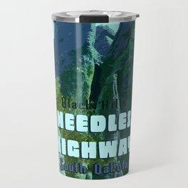Enchanted Needles Highway Retro Travel Travel Mug