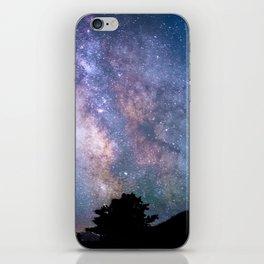 The Night Sky II - glowing stars iPhone Skin