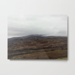 The mist rolling in Metal Print