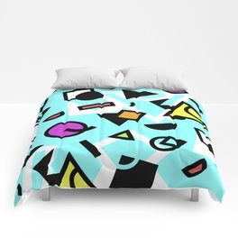 Funky shapes Comforters