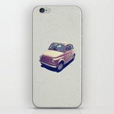Fiat 500 - Italia Car iPhone & iPod Skin
