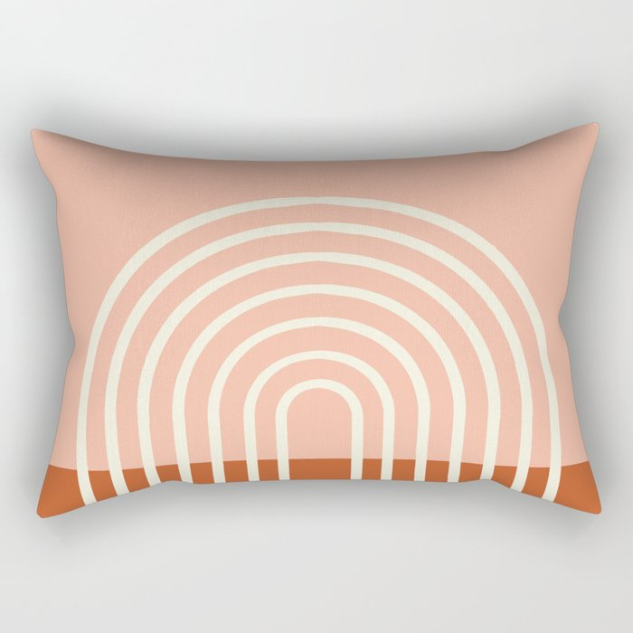 Terracota Pastel Rectangular Pillow