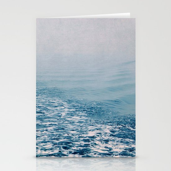 bleu water Stationery Cards