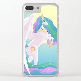Sunlight Princess Clear iPhone Case