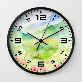 Spring Scenery #4 Wall Clock