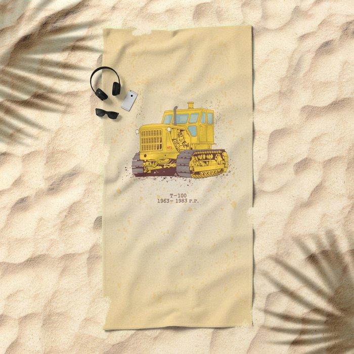 T 100 Beach Towel